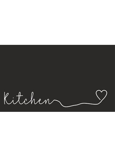 MarkaEv Kitchen 65 Mutfak Halısı Renkli